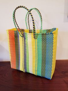 Oaxaca Hand made Market tote by OaxacaTextiles on Etsy
