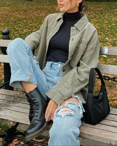Winter Fashion Outfits, Look Fashion, Winter Outfits, Autumn Fashion, Summer Outfits, Beach Fashion, Street Fashion, Retro Outfits, Cute Casual Outfits