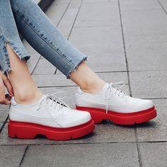 1e4173e8c98 Chiko Montserrat Flatform Oxfords Sneakers. Oxford SneakersBlue Suede ShoesSneakers  ...