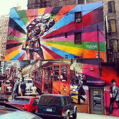 Street art - Kobra