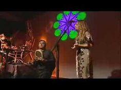 Glen Velez on riq with his wife Lori Cotler as she sings Konnakoi (drum language).