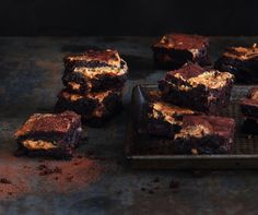 Chocolate and Peanut Butter Swirl Brownies. Featured in Crush Online Magazine