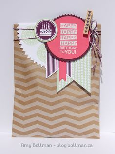 Stampin' Up! Convention 2014 Display Boards - Amazing Birthday - Amy Bollman - Such cute colors
