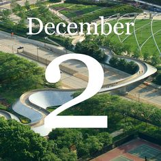 It's day two in our Christmas countdown of contemporary bridges, one for every letter of the alphabet. For the letter B, it's Frank Gehry's first bridge – a serpentine structure between two Chicago parks.