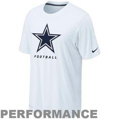 Nike Dallas Cowboys Legend Elite Logo Performance T-Shirt