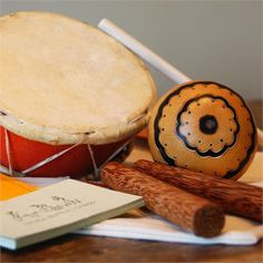 This fair trade musical instrument pack complete with learn along CD is perfect for you rhythm loving Pisces.  #pisces