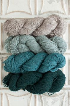 The Yarn for Livezey House Wrap kit includes 4 skeins of Local - 1 skein each of Colors A, B, C, and D. Get more info about Local, or choose your own unique color combo here! Download your free Liveze
