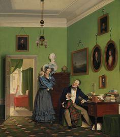 Wilhelm Bendz: Familien Waagepetersen (1830)