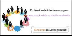 Professionele interim managers voor zorg & welzijn, overheid en onderwijs.