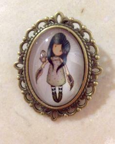Camafeo broche de muñeca gorjuss