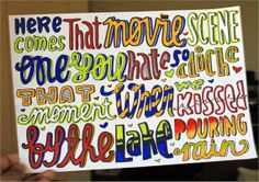 Here Comes Forever Lyric Art by SaraAndStephanie on Etsy, $4.99