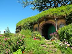Bag End at Hobbiton