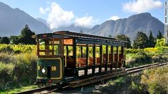 South Africa wine tram… CNN article