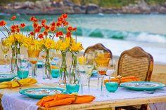 Inspiração de decoração gourmet para ambientes externos.