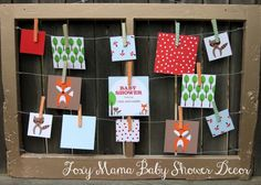 foxy mama baby shower decor - One Charming Party