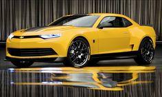 Transformers: Age of Extinction 2014 Chevrolet Camaro Concept