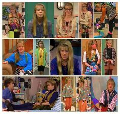 Collage of Clarissa Darling's best outfits.