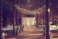 outdoor dream wedding