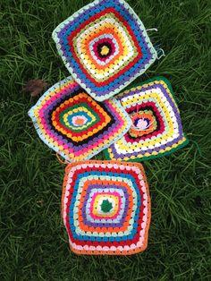 Será una bella manta!! Crochet