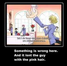 ouran high school funny   Anime Ouran High School Host Club. Wait til the identical blue haired one comes in. Then things get real.