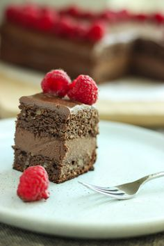 A delicious rich chocolate cake made from ALL healthy ingredients - no refined sugar, gluten, dairy just pure nutrition!