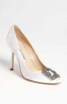Manolo Blahnik. #Zapatos de #Boda para #Novias #Wedding #Shoes