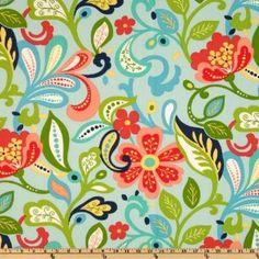 Amazon.com: 54'' Wide Richloom Indoor/Outdoor Wildwood Opal Fabric By The Yard: Fabric.com