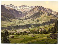 [Adelboden, general view, Bernese Oberland, Switzerland]