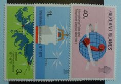 Falkland Islands Stamps 1977 Telecommunications SG328-330, Mint