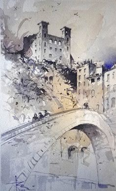 Tony Belobrajdic   WATERCOLOR   Pigna