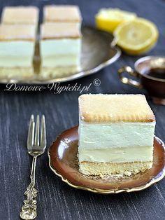 Light and Refreshing Lemon Cake Polish Desserts, Polish Recipes, Cookie Desserts, Fun Desserts, Delicious Desserts, Sweet Recipes, Cake Recipes, Ukrainian Recipes, Sweets Cake