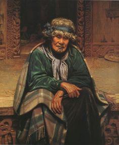 Ena Te Papatahi, a Chieftainess of the Ngapuhi Tribe Auckland Art Gallery Toi o Tamaki, NZ Fine Art Posters, Fine Art Prints, Maori People, Colonial Art, Maori Designs, New Zealand Art, Nz Art, Canvas Art, Canvas Prints