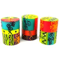 Stunning hand-painted candles from South Africa