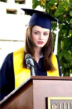 Rory Gilmore.  I would love if Charlotte were like her when she grows up!