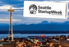 Startups are not sleepless in Seattle this week. Startup Week Seattle 2015 Event Stickers.