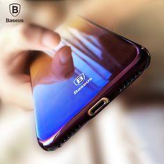 Baseus Originality Case For iPhone 7 luxury Aurora Gradient Color Transparent Case For iPhone 7 Plus light Cover Hard PC Cases -- Uznayte bol'she o bol'shom produkte po ssylke izobrazheniya. Iphone 7 Plus, Iphone 6, Iphone Cases Disney, Apple Iphone, Pc Cases, Cell Phone Cases, Iphone Case Covers, Iphone 7 Cases Luxury, Marble Iphone Case