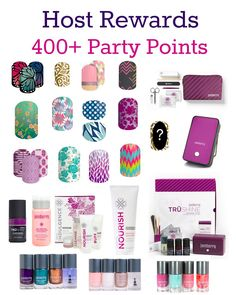 3 Reasons to be a Jamberry Hostess in January 2016!! Host Rewards - 400+ Party Points. 1.5 x Product Credit & Double Half Off Items!