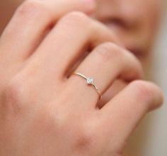 Small and delicate ring