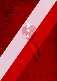 BEST OF POLAND – FOOTBALL 1972 -1974    Robert Gadocha    by Dieselfly