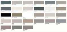 Couleur gris. Choisir une nuance de gris pour le salon ou la chambre à associer avec une couleur en camaïeux pour une ambiance zen ou associ...