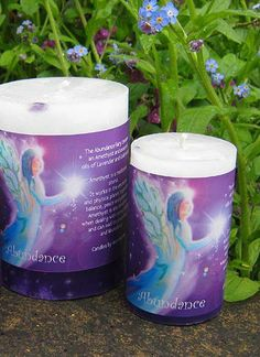 This Abundance Fairy Candle is made with Pure Essential Oils of Lavender and Cedarwood. This is a Natural Aromatherapy, white candle that has an Amethyst crystal Cedarwood Essential Oil, Essential Oil Candles, 100 Pure Essential Oils, White Candles, Pillar Candles, Aromatherapy Candles, Lavender Oil, Amethyst Crystal, Candle Making