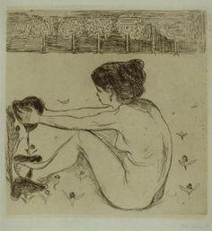 Edvard Munch. La femme et le coeur ______________________________ ♥♥♥ deniseweb.free.fr ♥♥♥