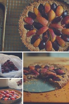 Plum Nectarine Almond Tart. An easy dessert for the cusp of fall. From Blossom to Stem | Because Delicious http://www.blossomtostem.net