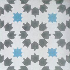 Mosaico Hidráulico/Encaustic Ciment Tiles. Mod. 246 B Mudejar