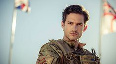 Captain James from the BBC programme 'Our Girl'   Actor - Ben Aldridge  Please just marry me you beautiful man?