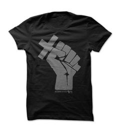 awesome Husband Revolution Cross In Fist - Shirt based On Matthew 16