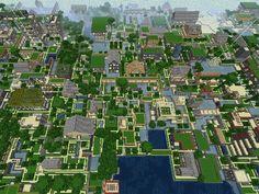 Minecraft[Town] Minecraft Project