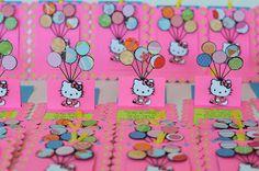 Handmade Hello Kitty Invitations