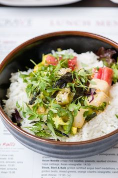 Mexican poke with ahi tuna and escolar, combined with cucumber and avocado at Crave, Mall of America
