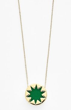 House of Harlow 1960 Mini Sunburst Pendant Necklace (Online Only) available at #Nordstrom